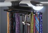Electric Tie Rack Brookstone the Motorized Tie Rack Hammacher Schlemmer