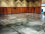 Elite Crete Garage Floors Elite Crete Reflector Epoxy Basketball Court Gets Custom Epoxy
