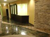 Elite Garage Floors Two toned Concrete Floors Pinterest Concrete and Concrete Floor