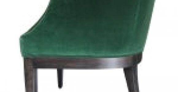 Emerald Green Velvet Accent Chair Custom Emerald Green Velvet Club Chair