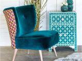 Emerald Green Velvet Accent Chair Yes Slipper Chair Green Accent Chairs Chairs the Home