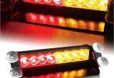 Emergency Lights for Vehicles 8 Led Car Dash Strobe Flash Light Emergency Warning Hazard Safety