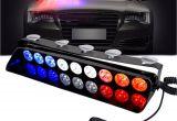 Emergency Lights for Vehicles Police Dash Light 12v Vehicle Emergency Flashers Windshield Strobe