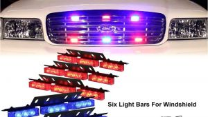 Emergency Vehicle Interior Light Bars Amazon Com Diyah 54 Led High Intensity Led Light Bar Law