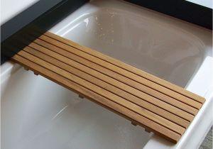 Extended Tub Bench Teak Bathtub Shelf Seat Bathroom Pinterest Bathtub Shelf