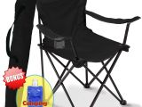 Extra Heavy Duty Beach Chairs Camping Chair Folding Portable Carry Bag for Storage and Travel