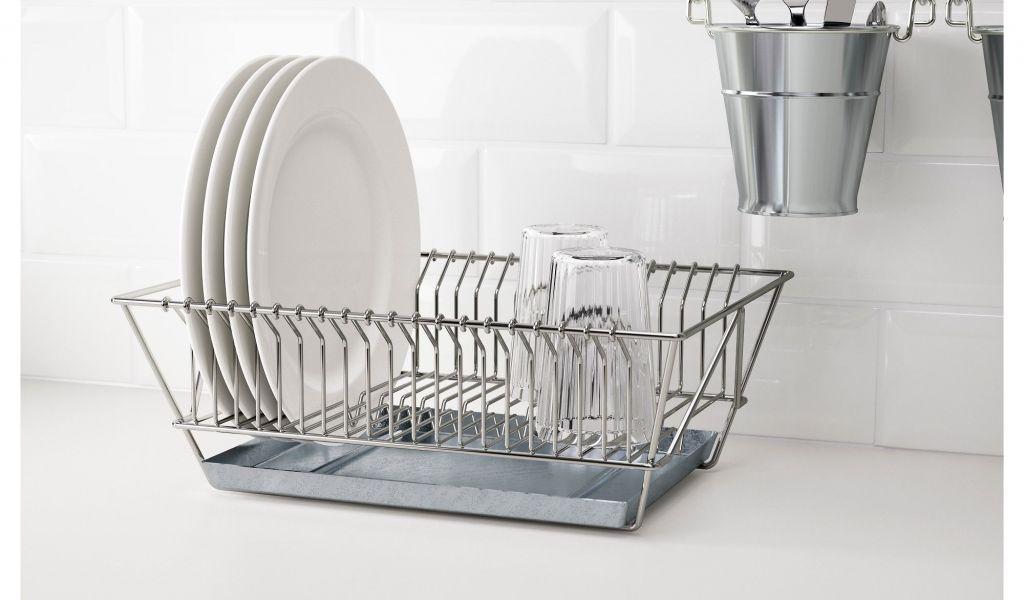 Extra Large Dish Drying Rack Mesmerizing Extra Large Dish Drying Rack Ikea Fintorp Dish Drainer Nickel Plated
