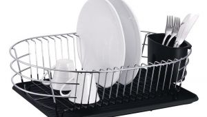 Extra Large Metal Wire Dish Rack with Drainboard Extra Large Metal Wire Dish Rack with Drain Board Dish Racks
