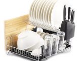 Extra Large Stainless Steel Dish Drying Rack 2 Premiumracks Professional Dish Rack 304 Stainless Steel Fully