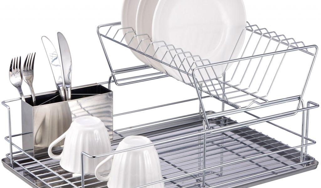 Extra Large Dish Drying Rack Inspiration Extra Large Stainless Steel Dish Drying Rack 60 Plate Draining Rack