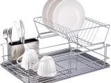 Extra Large Stainless Steel Dish Drying Rack 51 Plate Draining Rack Plate Drain Rack Popular Plate Drain Rack