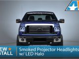 F150 Halo Lights 2009 2014 F 150 Smoked Projector Headlights W Led Halo Review