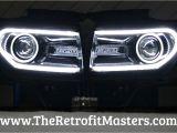F150 Halo Lights ford F 150 Oem Hid Headlights W Switchback Led Tube 2009 2014