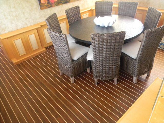 Fake Teak And Holly Flooring Interior Boat Flooring