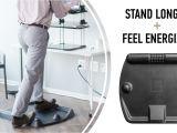 Fidget Chair Kickstarter Cubefit Terramat the Ergonomic Standing Desk Mat by Gerald Zingraf