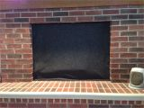 Fireplace Draft Blocker Diy Fireplace Draft Stopper Gaining Mommymentum
