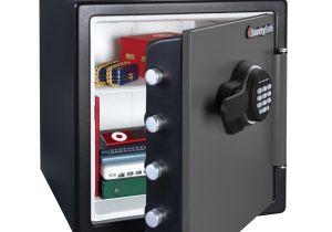 Fireproof Floor Safe Uk Sentry Sfw123es Fire Resistant Electronic Safe Costco Uk