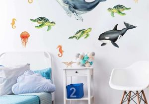 Fish Decor for Walls Fishing Bedroom Decor Awesome 32 Elegant Fish Wall Decals Scheme