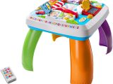 Fisher Price Table and Chairs Blue Fisher Price Laugh Learn Around the town Learning Table Walmart Com