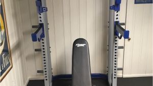 Fitness Gear Pro Full Rack 5 18 17 Fitness Gear Pro Hr600 Half Rack Utility Bench In Scarsdale