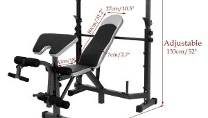 Fitness Gear Pro Olympic Bench Amazon Com Multi Function Olympic Workout Bench W Adjustable Squat