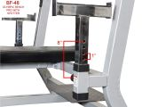 Fitness Gear Pro Olympic Bench Amazon Com Valor Fitness Bf 48 Olympic Bench Pro with Spotter