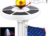 Flag Pole Lights solar Powered Online Cheap High Bright 26 Leds solar Powered Flag Pole Light 3w