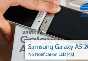 Flashing Light Notification Samsung Galaxy A5 6 2016 Notification Led English 4k Youtube