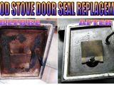 Flat Fireplace Gasket Replace Wood Stove Door Seal Youtube