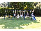 Flexible Flyer Backyard Swingin Fun Metal Swing Set Flexible Flyer Swing Sets