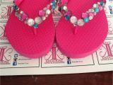 Flip Flop Decorating Ideas for Wedding Custom Bling Flip Flops Flip Flop Crafts Pinterest Bling Flip