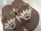Flip Flop Decorating Ideas for Wedding Princess Crown Flip Flops Bling Bridal Wedding Swarovski