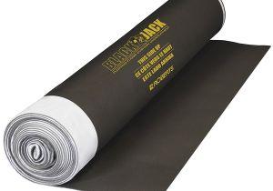 Floor Muffler Underlayment Amazon Black Jack 100 Sq Ft 28 Ft X 43 In X 2 5 Mm Roll Of 2 In 1