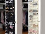 Floor to Ceiling Shoe Rack Over the Door Hanging Shoe organizer Storage Holder sorter for 26