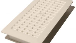 Floor Vent Covers Home Depot Canada 4 In X 12 In Plastic Floor Register White Pl412 Wh the Home Depot