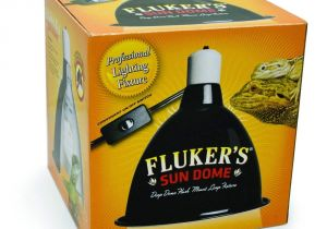 Fluker S 5.5 Clamp Lamp Flukers Sun Dome Reptile Lamp