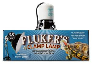 Fluker S 5.5 Clamp Lamp Flukers Turtle Clamp Lamp