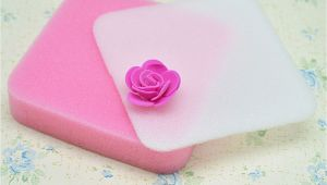 Foam Pads for Flower Making 2pcs Fondant Flower Shapes Mat Shaping Foam Pad Sponge Gum Paste