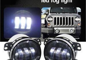 Fog Lights for Trucks 12v 4 Inch 30w Led Fog Lamp assembly Off Road Car Light for Jeep