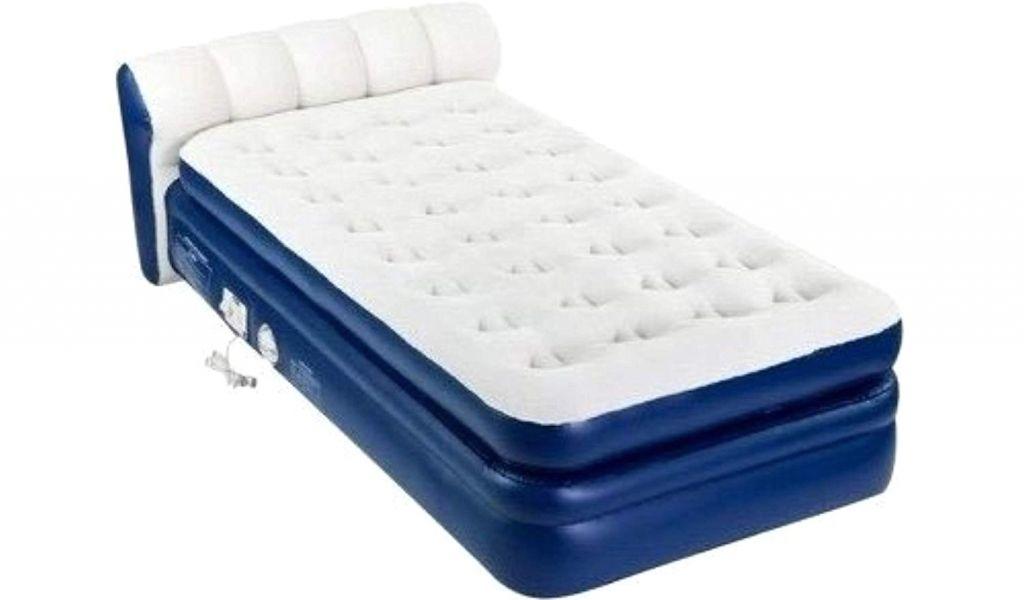 Folding Air Bed Frame Amazon Air Mattress with Pump This Durabeam ...