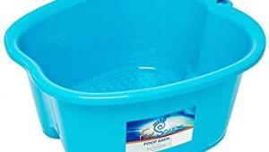 Foot soak Bathtub Amazon Foot Bath Spa Tub Thick Sturdy Plastic