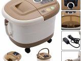 Foot Spa Bathtub Foot Spa Massage Bath Pedicure Kit Tub Led Display