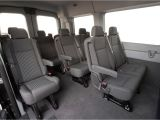 Ford Conversion Van Interior Parts 2018 ford Transit 12 Passenger Van Review Hawaii Van Rental