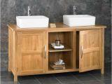 Freestanding Bathroom Vanity Units 130cm Oak Bathroom Cabinet Freestanding Basin Double Sink