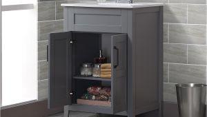 "Freestanding Bathroom Vanity with Sink Freestanding Style 24"" Single Sink Bathroom Vanity Set"