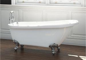 Freestanding Bathtub 1200mm Synergy Brentwood Freestanding Bath with Claw Feet 1555mm