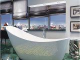 Freestanding Bathtub 1200mm Synergy Slipper Freestanding Bath Black Bathshop321