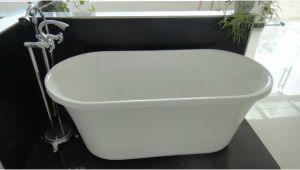 Freestanding Bathtub 1300mm 51 Inch Acrylic Free Standing soaking Tub 1300mm