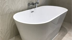 Freestanding Bathtub 1500 Sebastian Acrylic White Freestanding Bath 1500 X 700mm