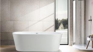 Freestanding Bathtub Flexible Drain Va6815 Vanity Art